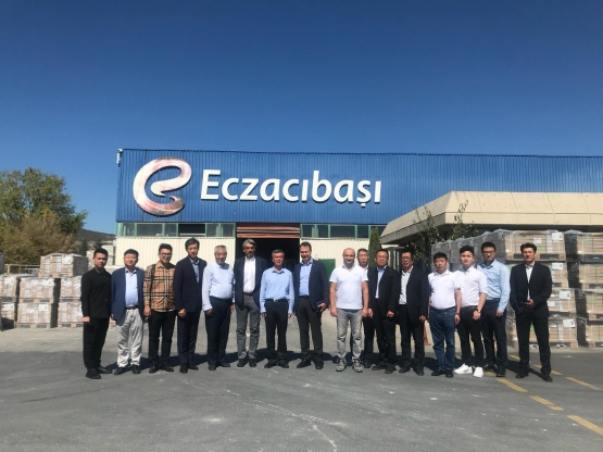 CBCSA China Building Ceramics and Sanitaryware Association Derneği'nden Ziyaret