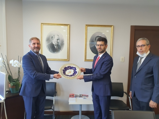 A Visit to the Presidential Investment Office from Turkey Ceramics Federation
