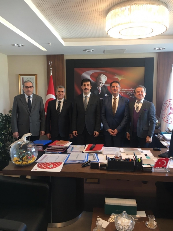Visit to Health Services General Manager Prof. Dr. Mr. Ahmet Tekin