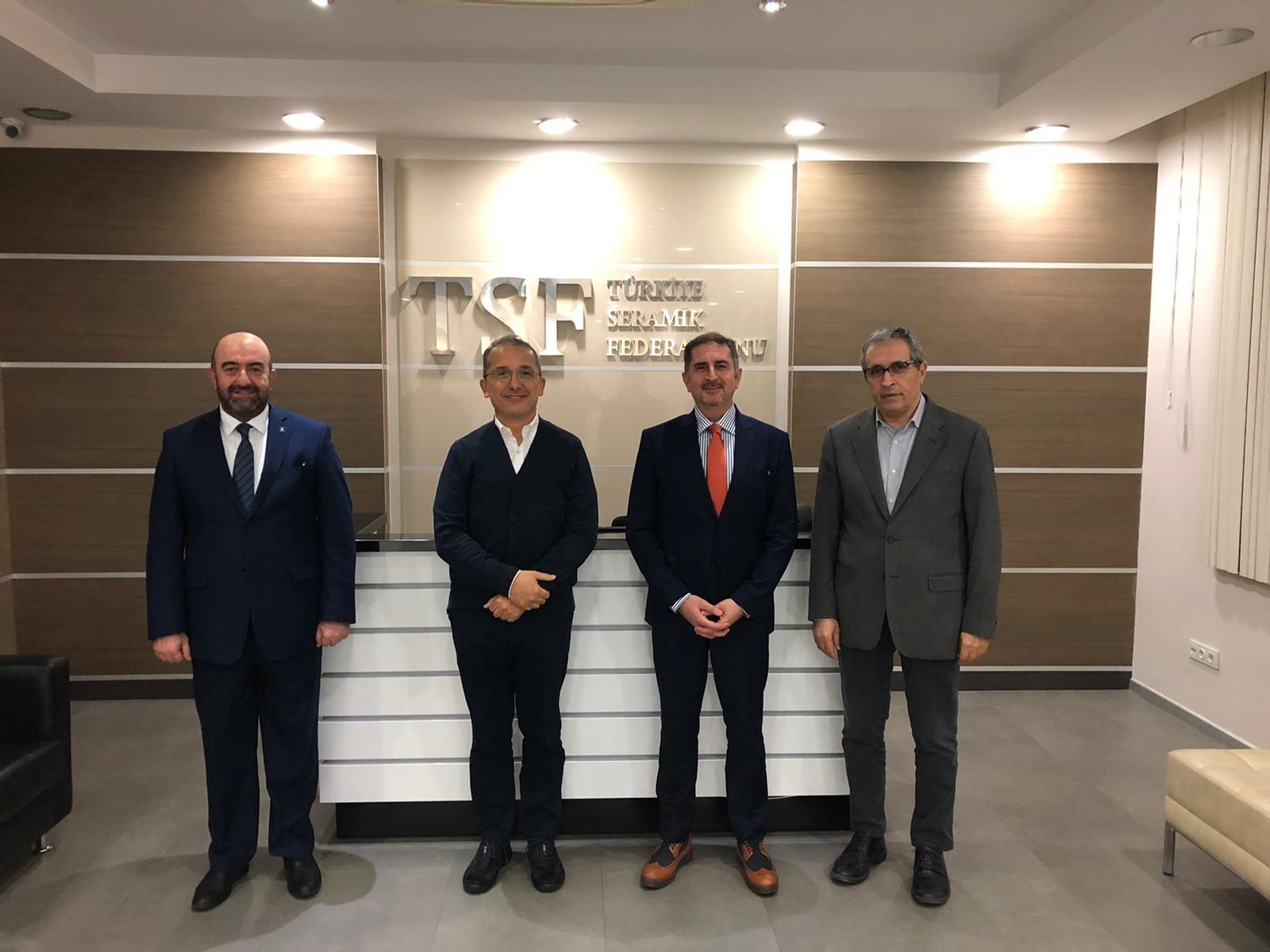 Eczacıbaşı Banyo Grubu CEO'su Sn. M. Özgen Özkan'ın TSF ziyareti