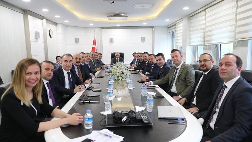 T.C. Aile, Çalışma ve Sosyal Hizmetler Bakan Yardımcısı Sn. Ahmet ERDEM ziyareti