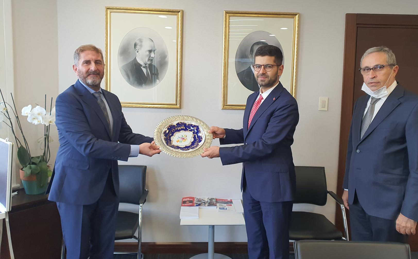 Türkiye Seramik Federasyonu'ndan Cumhurbaşkanlığı Yatırım Ofisi'ne Ziyaret