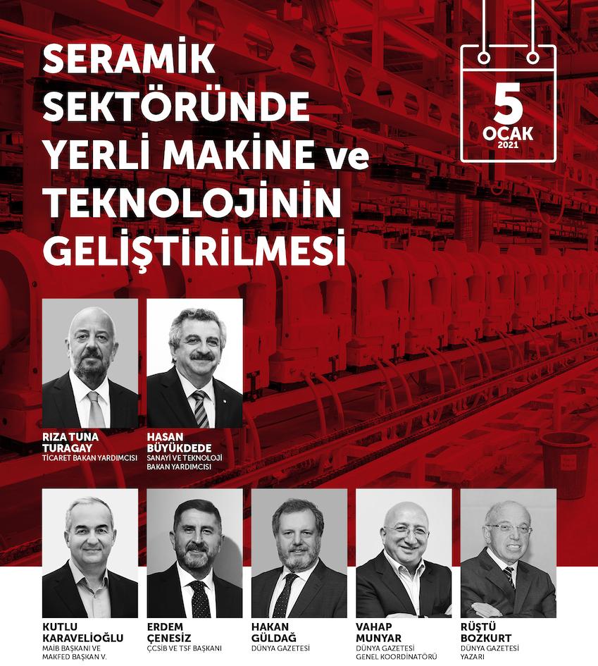 Seramik Sektöründe Yerli Makine ve Teknolojinin Geliştirilmesi programı