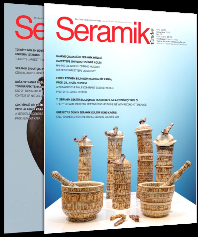 Seramik Türkiye Dergisi Eylül 2020 sayısı yayınlandı!