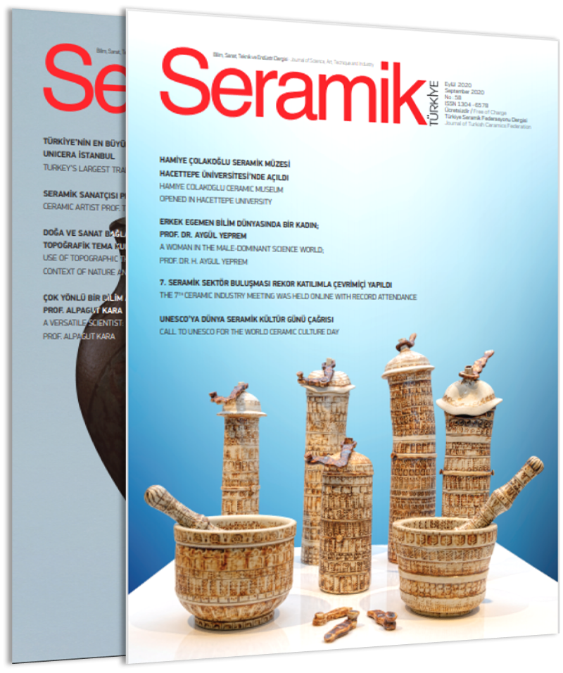 September 2020 issue of Seramik Türkiye Journal published!