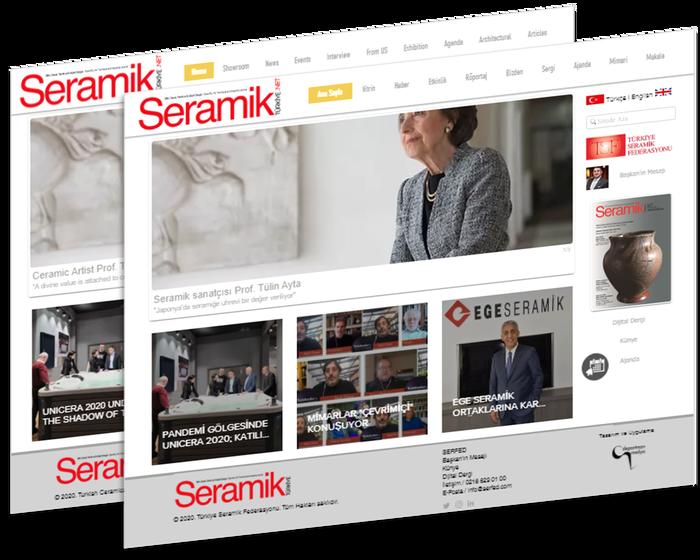 2 ayda bir yayınlanacak olan Seramik Türkiye E-Dergisi Temmuz sayısı