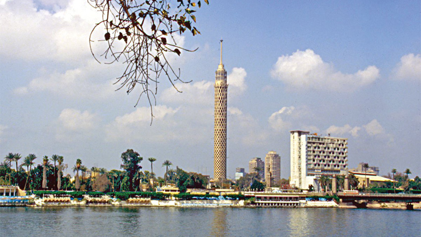 Cairo Tower, refurbished by VitrA Tile and VitrA Fix products